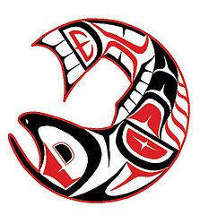 Image result for NATIVE AMERICAN, SALMON