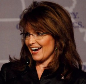 MIAMI, FL- NOVEMBER 13: Alaska Gov. Sarah Palin speaks during the Republican Governors Association conference November 13, 2008 in Miami, Florida. Palin delivered remarks about her feelings on the future of the Repulican party. (Photo by Joe Raedle/Getty Images)